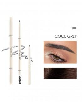 Antakių pieštukas FOCALLURE Cool Grey Apvalus