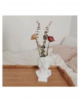 Davido vazos dekoracija namams