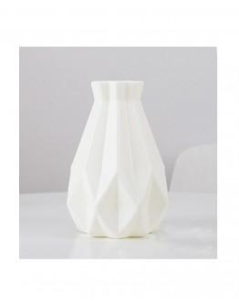 Vazos Imitacija Plastikinė Baltos spalvos