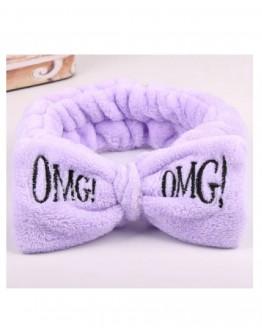 Plaukų juosta OMG! violetinės spalvos