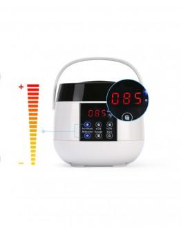 Vaško šildytuvas su LCD, 100w baltas