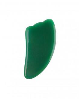 Veidą masažuojantis akmuo žalio Nefrito Jade